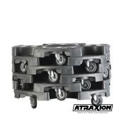 Ahcon  Ahcon Wheel trolley basic Box of 6pcs!!!(120kg and 63cm round) 6306PCKWT