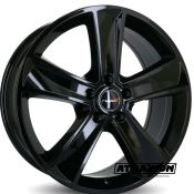 7.5x18 5x112 ET45 CTR66.6 Alu Ruuud Mammut5 Glossy Black (DED:Mercedes-Benz ) A225A7545E5112666NL