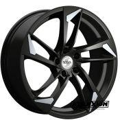 8x18 5x112 ET35 CTR66,5 Alu Sp46  (Spath) Black Matt Special Lip Polished SP468X18355X11266540