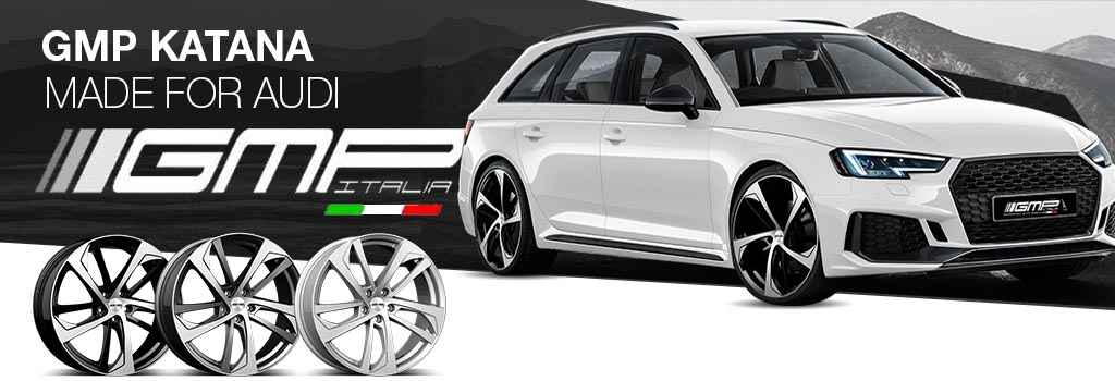 GMP KATANA made for Audi