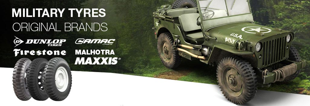 Military Tyres original brands