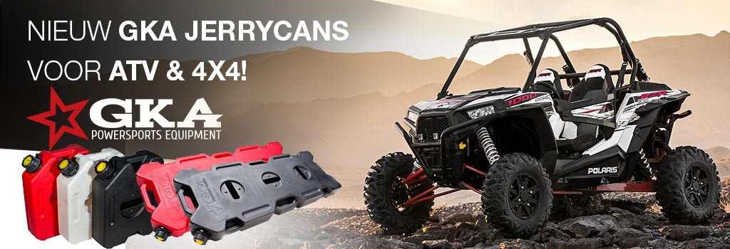 GKA Quad UTV ATV Jerry cans